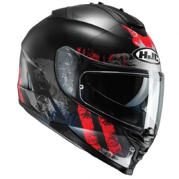 HJC IS-17 Shapy Red Full Face Motorcycle Motorbike Helmet Free Pinlock